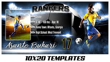 10x20 Photo Templates