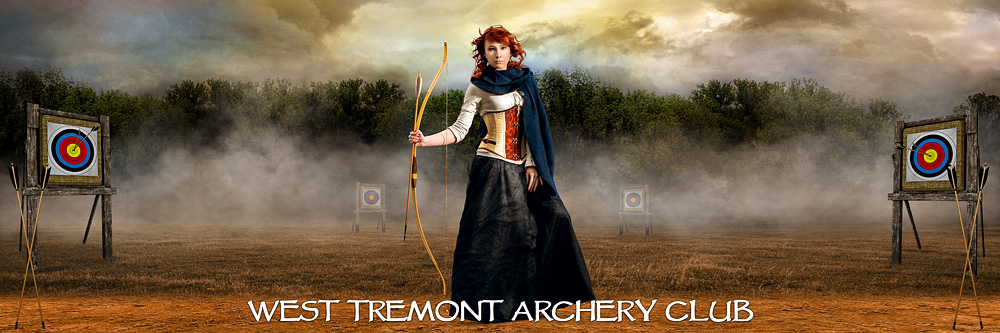 Archery Range Panoramic Team Banner