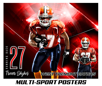 Multi-Sport Photo Templates