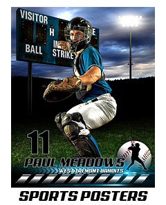 16x20 Sports PhotoTemplates