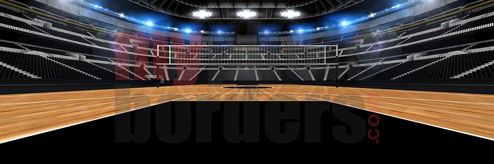 Volleyball Stadium Digital Background